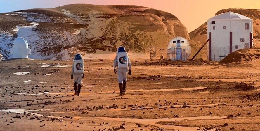 Иллюстрация: Mars Society MRDS