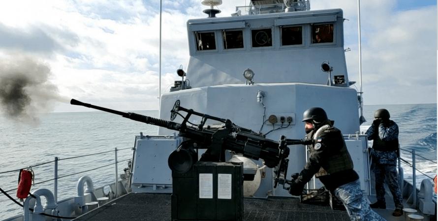 озброєння для катерів Island