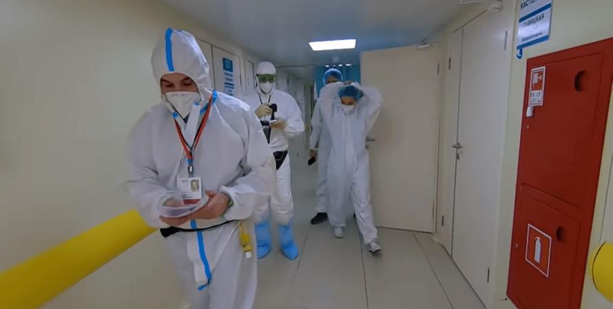 врачи, коронавирус, больница, фото