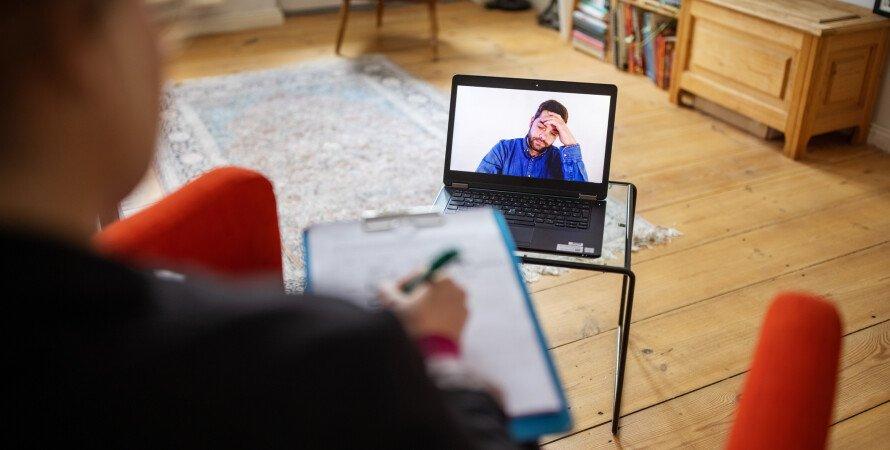 віддалена робота, робота онлайн, конференція в Zoom