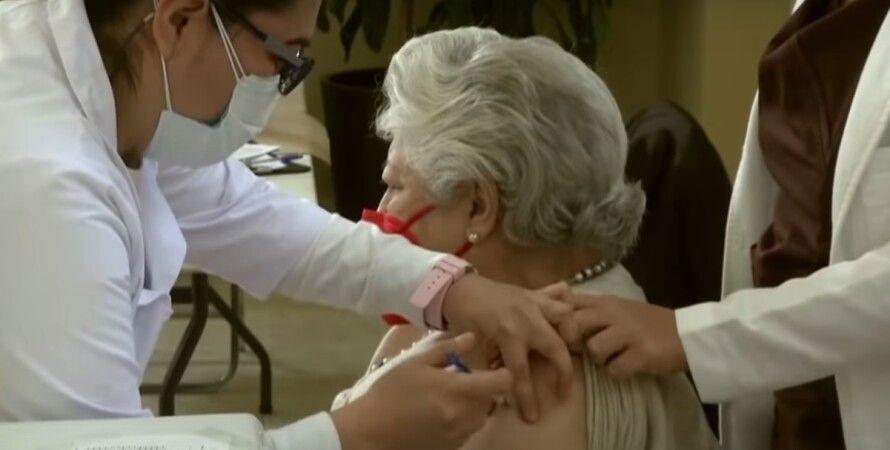 Вакцинація, літні люди