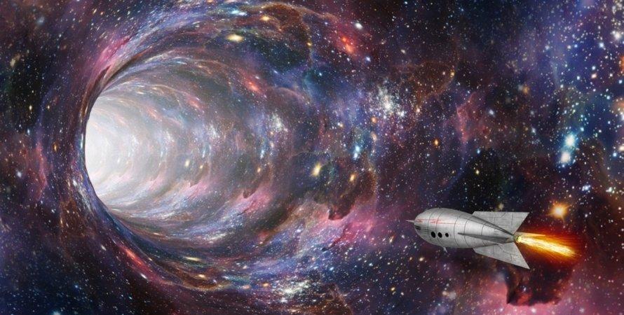 червоточина, кротовая нора, Вселенная