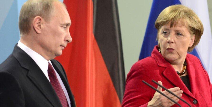 Владимир Путин и Ангела Меркель / AFP