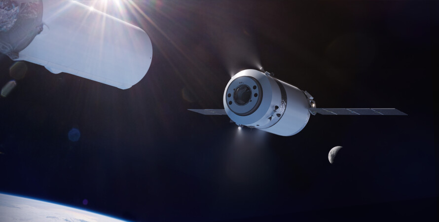 SpaceX доставит груз, груз на луну,