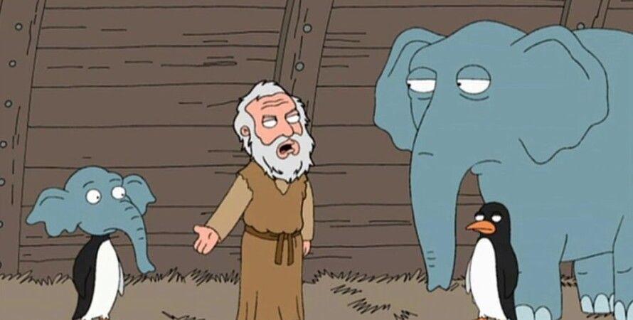Скриншот: Family Guy