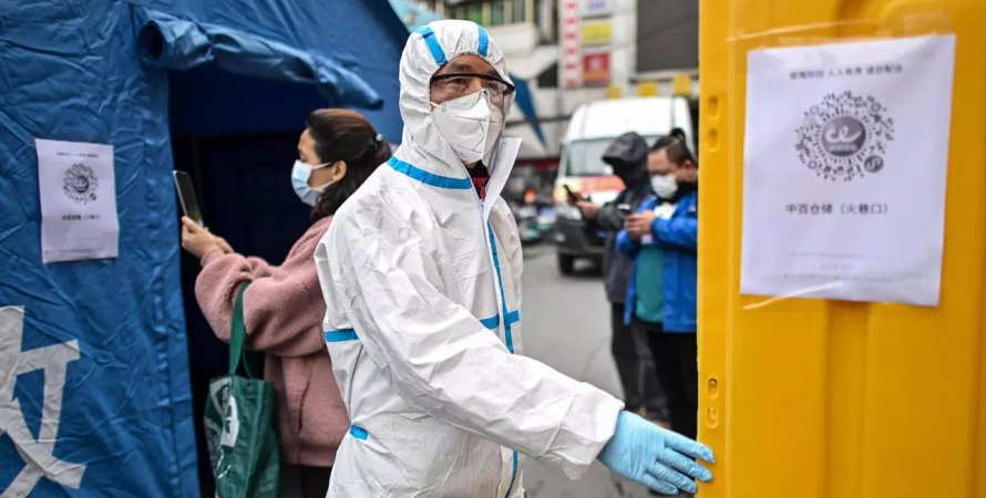Китай, коронавірус в Китаї, спалах COVID-19 у Китаї