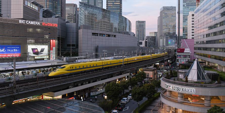 Японія, поїзд, залізниця, технології