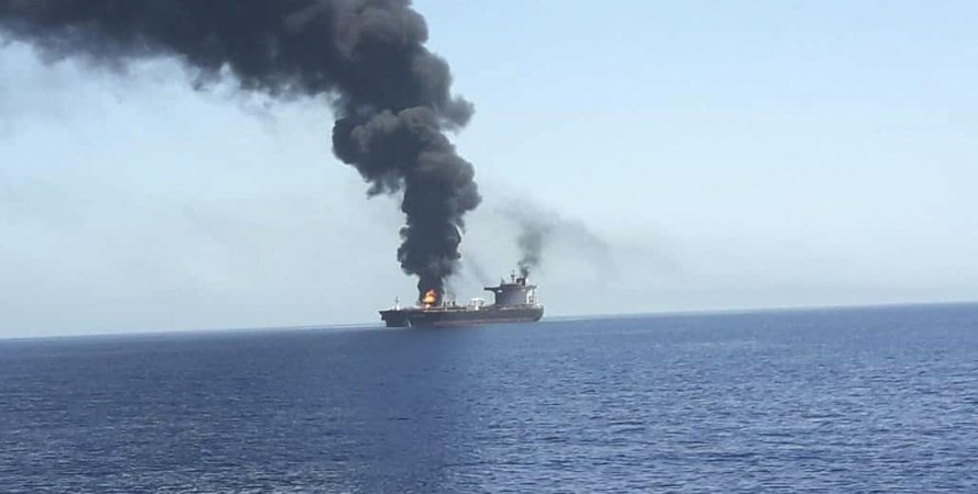 судно, судно CSAV TYNDALL, обстріл ізраїльського контейнеровоза