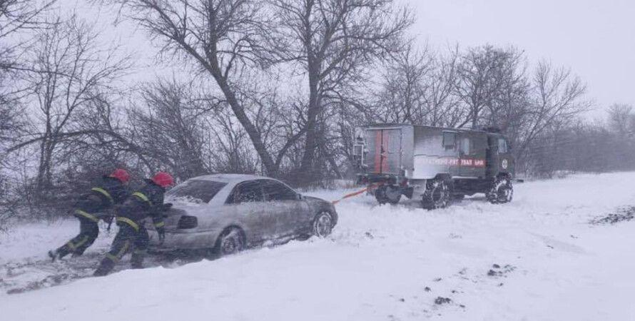 погода, сніг, снігопади, погода в Україні, снігопад в Україні, дороги