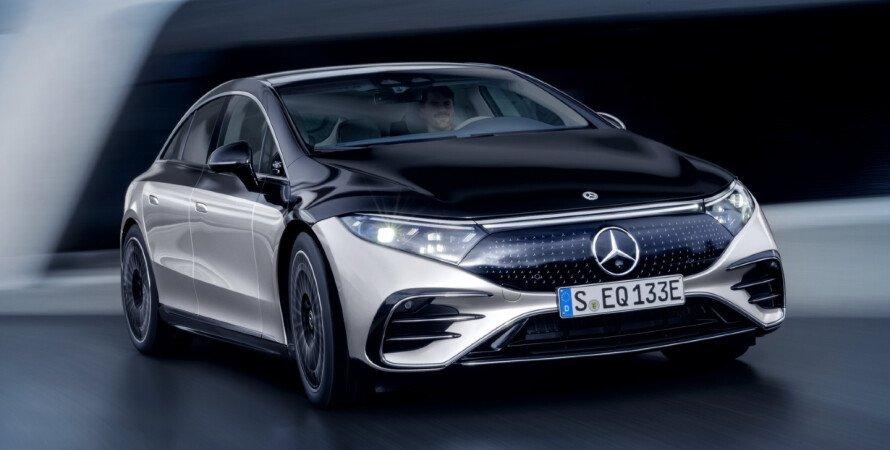Mercedes-Benz EQS, электрический Mercedes-Benz EQS, флагман Mercedes-Benz EQS