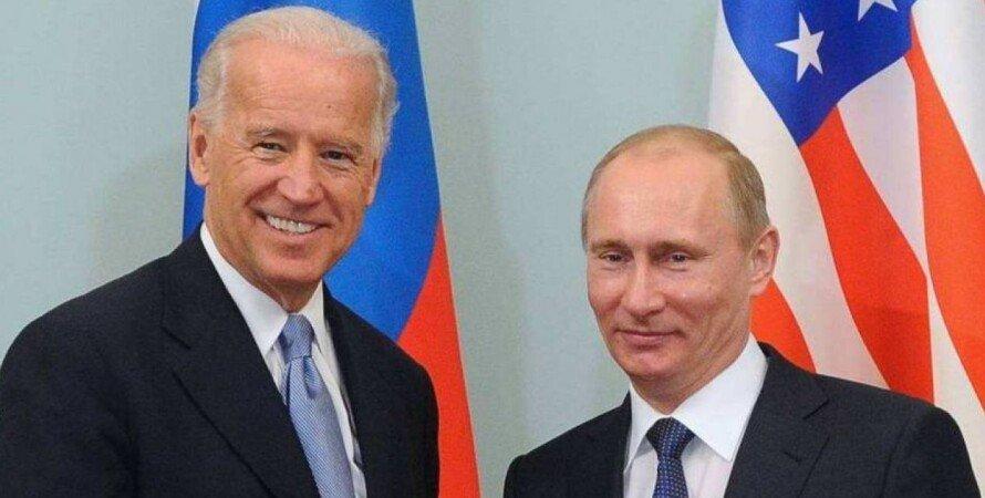 байден, джо байден, россия, путин, владимир путин