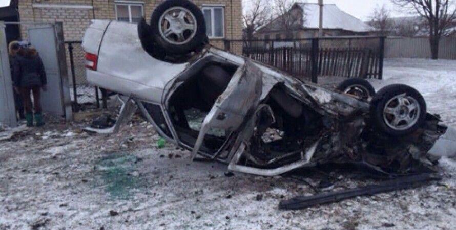 Последствия обстрела Дебальцево 19 января / Фото: УМВД в Донецкой области