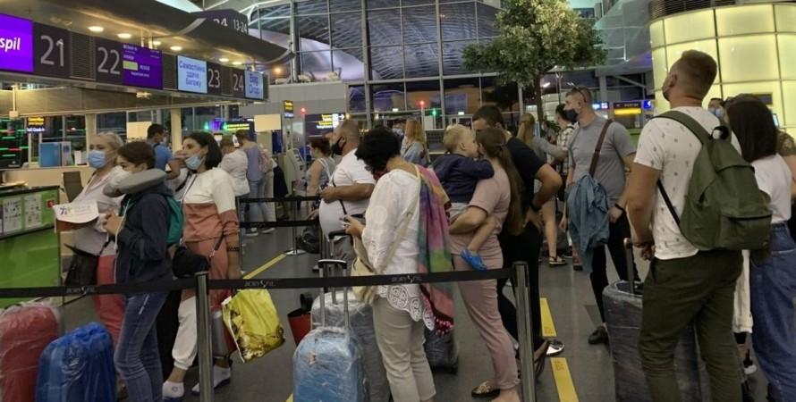 Бориспіль, аеропорт, пасажири,