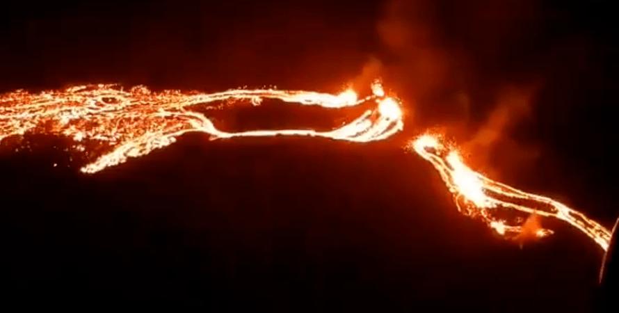 Ісландія, вулкан, виверження, Фаградальсфьядль