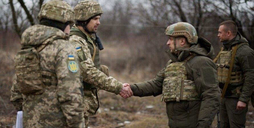 Владимир Зеленский, Большая семерка, Донбасс, G7, передовая