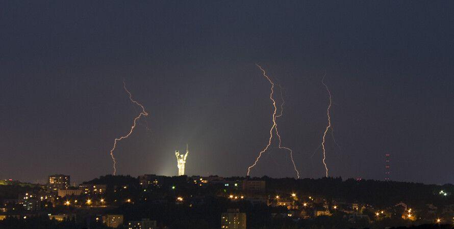 Гроза в Киеве / Фото: 112.ua