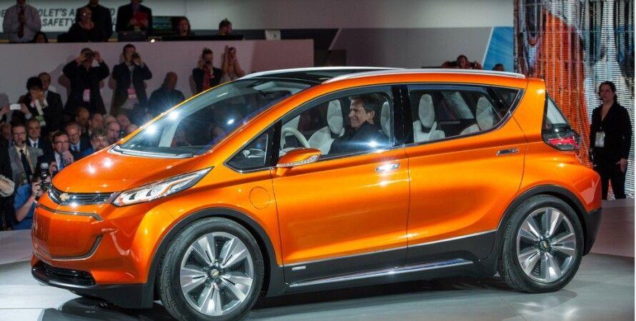 Chevrolet Bolt / Фото пресс-службы GM