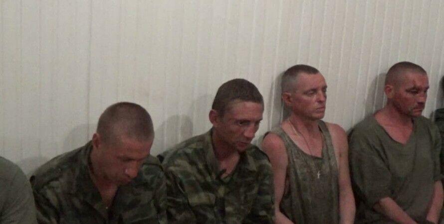 Боевики, взятые в плен под Широкино / Фото: СБУ