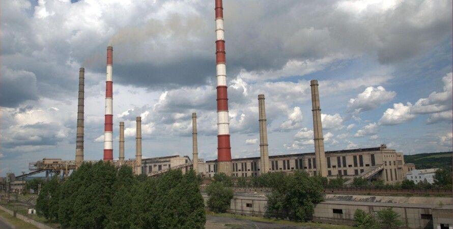 ТЭС в городе Счастье / Фото: gorod.lugansk.ua