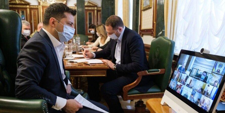 Владимир Зеленский, президент Украины Владимир Зеленский, совещание Зеленского