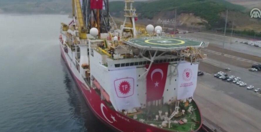 турция, санкции, судно, греция, газ