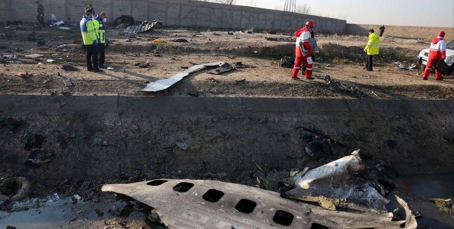 МАУ, авіакатастрофа, Іран, Тегеран