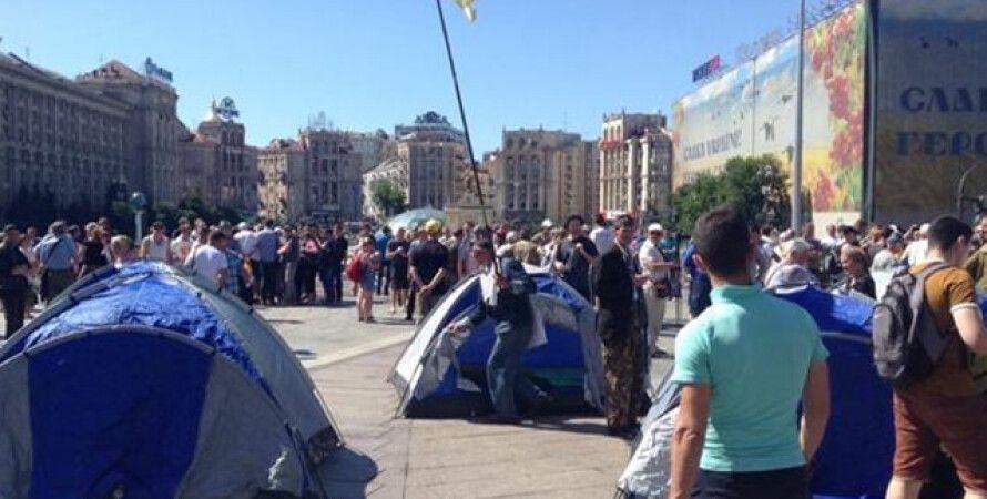 Палатки на Майдане / Фото: 112.ua