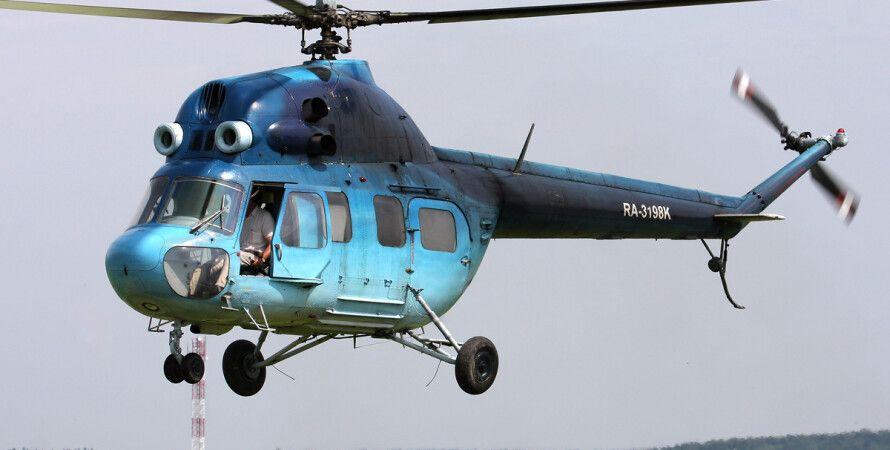 Вертолет Ми-2 / Фото из открытых источников