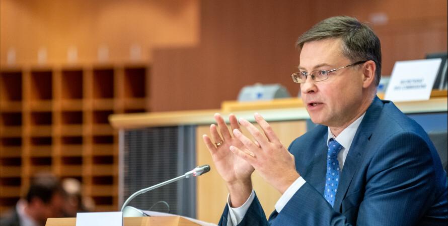 Валдис Домбровскис, Еврокомиссия
