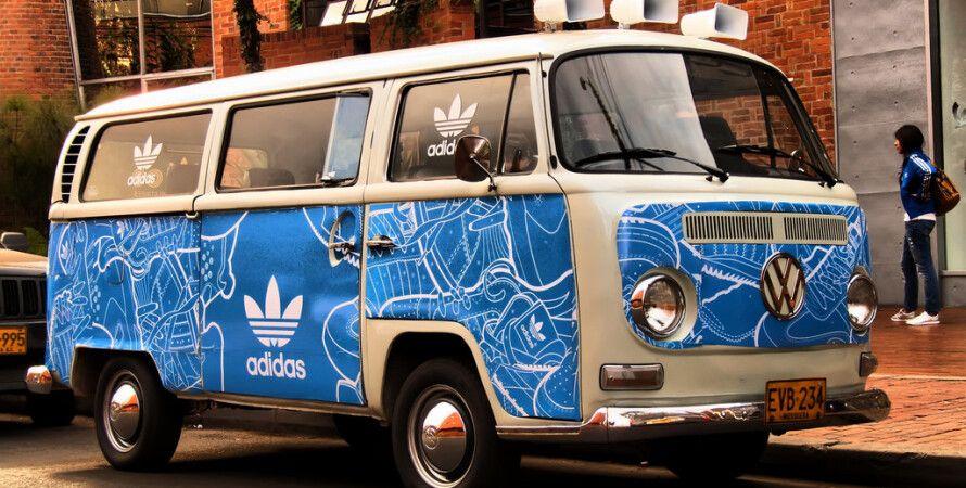 Фото: volkswagen Adidas van / flickr.com