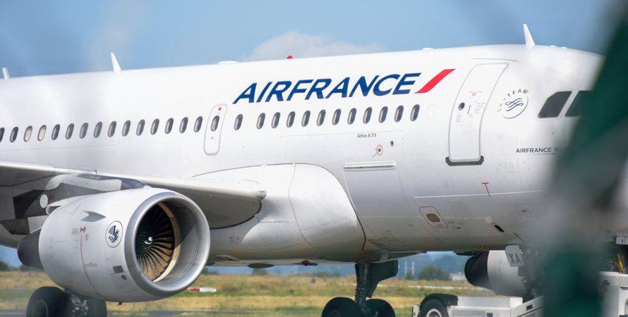 Air France, самолет, бомба