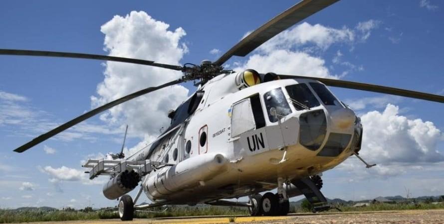 вертолет, ми-8, конго, фото