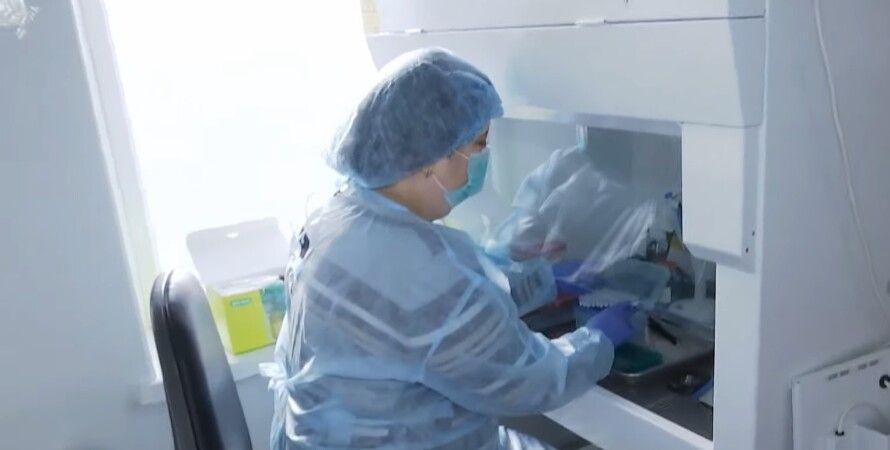 Лікар, вчені, коронавірус, аналіз