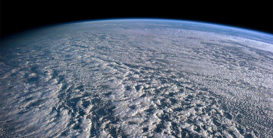 хмари, Земля, космос, фото