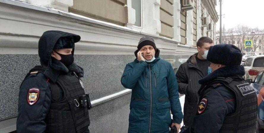 Сергей Смирнов, Медиазона, главред, митинги в России, Москва