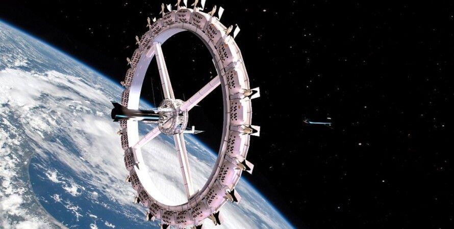 космічний готель, орбіта, Земля
