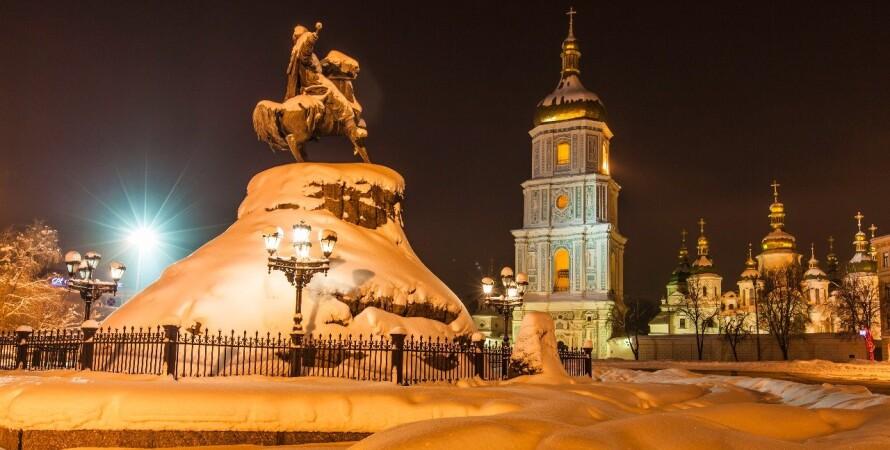 погода, Україна, зима, 8 січня, снігопад, вітер
