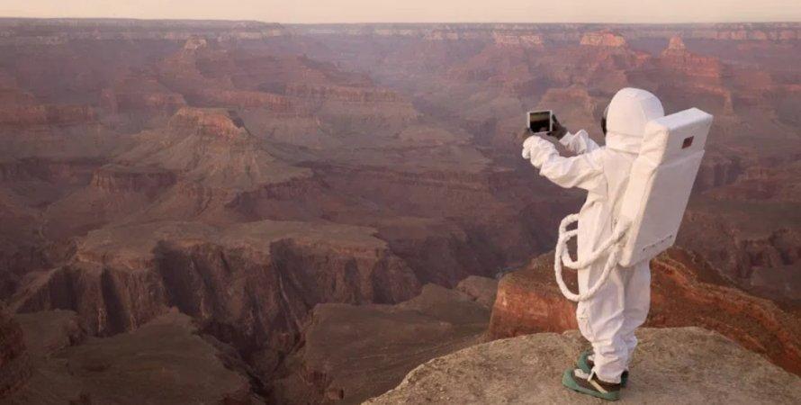 Марс, Красная планета, туризм, туристы