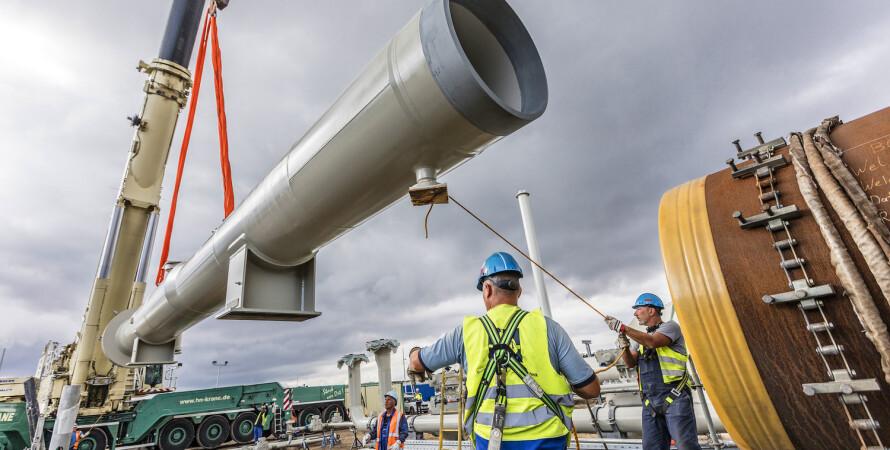 газопровод, Северный поток-2, строительство Северного потока-2