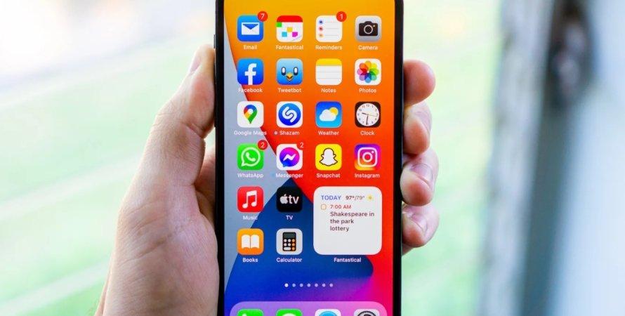 iOS 15, операційна система