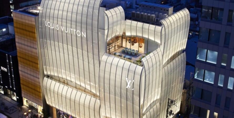 Louis Vuitton, кафе, ресторан, Япония,  фото, первый в мире ресторан Louis Vuitton