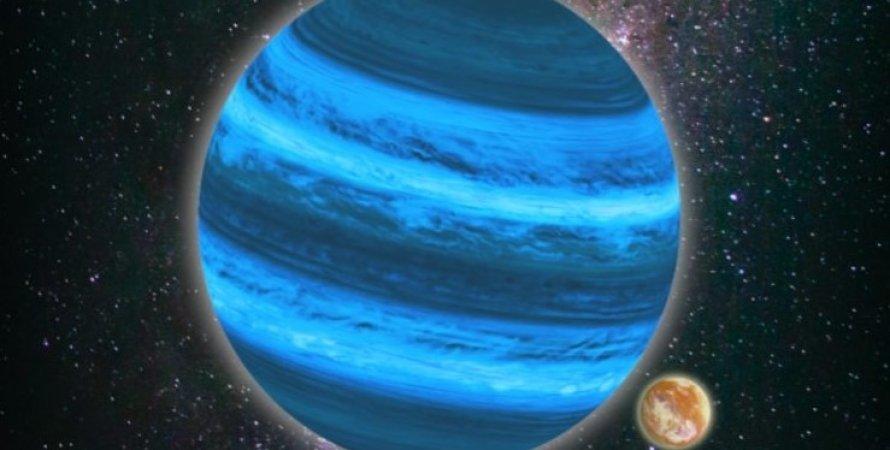 Свободно плавающая планета