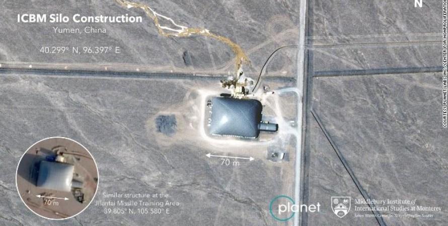 шахти, міжконтинентальні балістичні ракети, китай