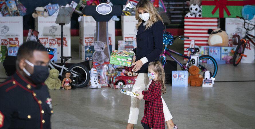 Мелания Трамп Рождество фото