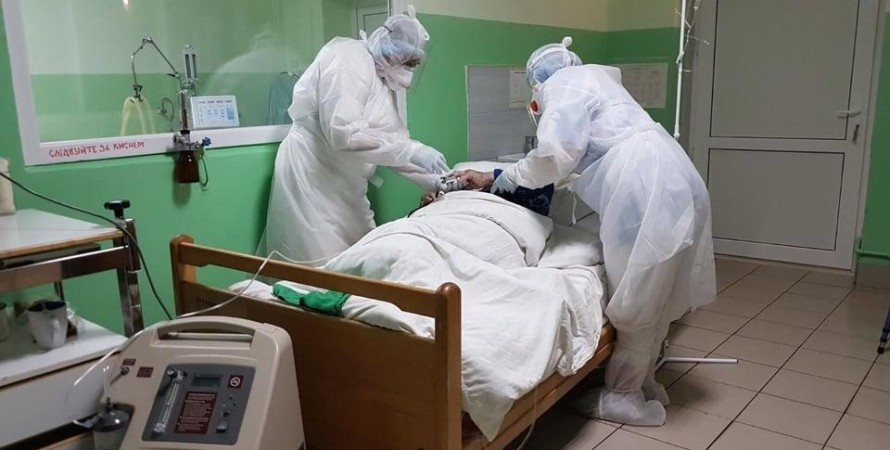 коронавирус, больница, пациент, врачи, фото