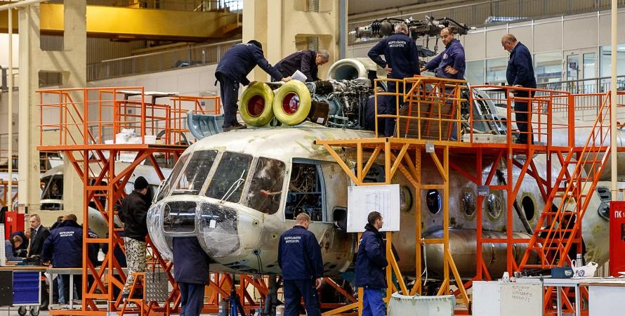 виробництв вертольотів
