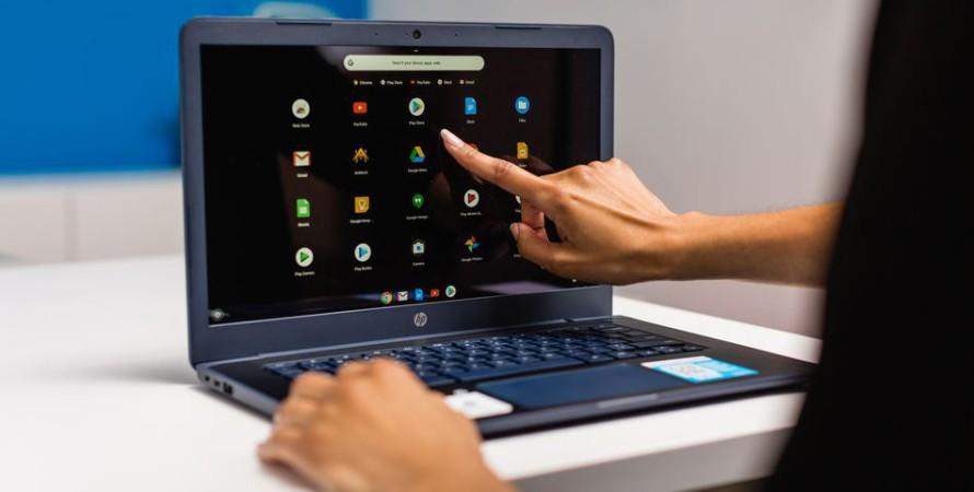 хромбук, hp, портативный персональный компьютер, ноутбук