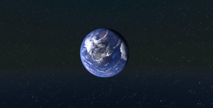 Земля, космос, фото, пространство