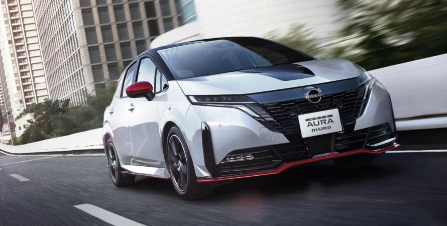 Nissan Note Aura Nismo представлен официально.