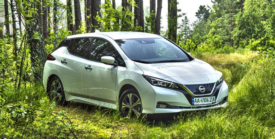 Обзор Nissan Leaf второго поколения